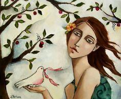 Sold Works - DELIVERING HOPE - by Jennifer Yoswa