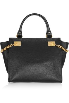 Sophie Hulme | Textured-leather tote | NET-A-PORTER.COM
