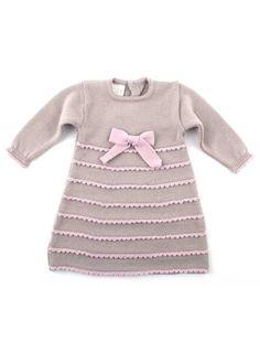 Dress with crochet studs