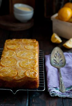 Meyer lemon cornmeal quick bread recipe from Jelly Toast   //   FOXINTHEPINE.COM