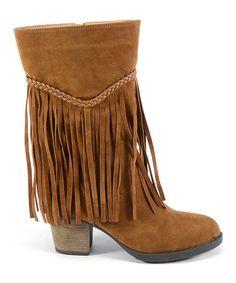 48d3678d08a Corkys Footwear Chestnut Fringe Boot