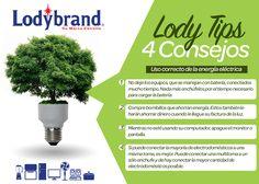 Arte para LodyTips, 4 Consejos para un mejor ahorro de energía  LODYBRAND by HeizelArtz