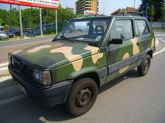 Military Fashion, Military Style, Fiat Panda, Fiat Cars, Fiat Abarth, Steyr, Sport Cars, Cars And Motorcycles, Military Vehicles