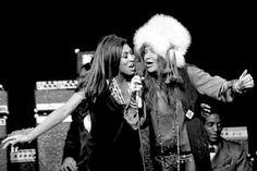 Janis Joplin and Tina Turner