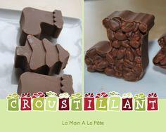 chocolats croustillants au riz soufflé