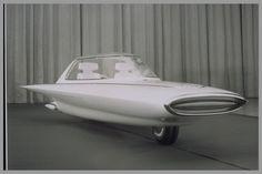 1961 Ford Gyron - gyro-stabilized two-wheeler