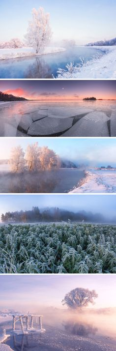 The Dramatic Frozen Countryside of Belarus Photographed by Alex Ugalnikov