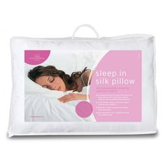 Sleep In Silk Pillow Pair Silk and microfibre blend for luxyrious comfort.  A luxurious blend of down-like fibres and pure natural silk resulting in superb softness and exceptional breathability. A microfibre cotton cover for superb softness and comfort. Washes at 40°C to keep tyour pillow fresh and clean. Non allergenic, for a healthier allergy free nights sleep. Price: £21.99