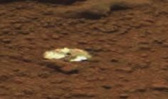 Compact disc shaped object found by Mars rover Curiosity. Yes i know it sounds crazy but what else could it be Happy trolling. Raw image here ...