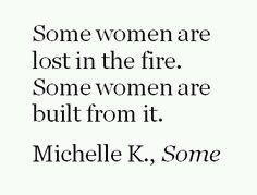 The fiery feminine