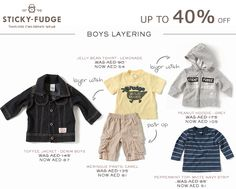 Branded Clothing - up to off Beautiful cotton clothing, which can be mixed and matched, is on sale now, only whilst stocks last! Sticky Fudge, Baby Online, Grey Hoodie, Hoodies, Denim, Boys, Clothing, T Shirt, How To Wear