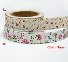 15mm x 10M Flourish Retro Oil Paintings Washi tape Floral Flower Print Blossom
