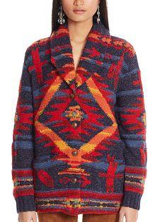 Southwestern Shawl Cardigan - Polo Ralph Lauren Cardigans