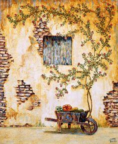 Коллекция картинок: Прованс - Окна, двери, интерьер