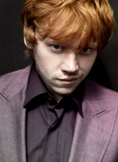 Rupert Grint - Ron Weasley in the Harry Potter movies