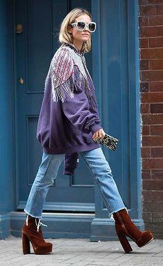 Blanca Miro seen during London Fashion Week Source by genevievemb outfits moda Fashion Mode, Fast Fashion, Winter Fashion, Fashion Looks, Womens Fashion, Paris Fashion, London Fashion Week 2018 Street Style, Fashion Spring, Retro Fashion