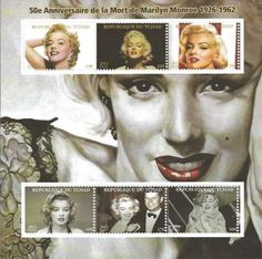 Republique du Tchad stamp - Marilyn Monroe Anniversary