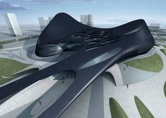 Taichung Metropolitan Opera House by Zaha Hadid Architects