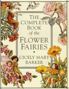 Bloemenkinderen door het jaar heen in 'The complete book of the flower fairies',  van Cicely Mary Barker.