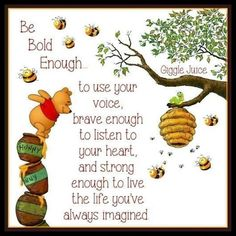 Winnie the Pooh quotes are helpful for every aspect of life. These Winnie the Pooh quotes will help you to discover your own Hundred Acre Wood. Life Quotes Love, Cute Quotes, Great Quotes, Inspirational Quotes, Bff Quotes, Friend Quotes, Honor Quotes, Movie Quotes, Funny Quotes