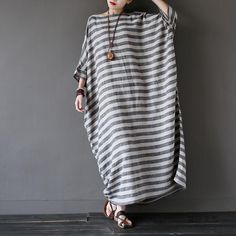 ♥ Material : Cotton Linen♥ Color: As picture♥ Available Size: ,M,L.Size M:Bust(165cm/65''),Waist(132cm/52'')Sleeve length(47cm/18.5''),,<p>Length(120cm/47.3''),</p><br/><p&g..