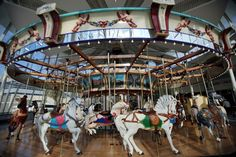 Euclid Beach Carousel back on track in University Circle (slideshow) Trust For Public Land, Moving To Maine, Ford Foundation, Old Orchard Beach, Interactive Exhibition, Admission Ticket, Carnival Rides, Back On Track, Cleveland Ohio