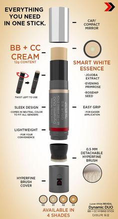 DD Stick 8 in 1 Makeup, Foundation, Concealer, Primer (Lasts 16 Hours) - Makeup Products Best Concealer, Advanced Skin Care, Sunscreen Spf 50, Vitamins For Skin, Uneven Skin Tone, Cc Cream, Skin Brightening, Skin Care Regimen, Natural Skin
