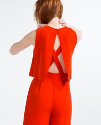 Image 5 of LONG LAYERED JUMPSUIT from Zara