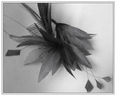 """$45 """"Catherine"""" #fascinator #hair #accessories #headpiece #hairstyle #fashion #feathers"""