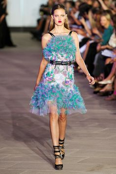 Digging the frilly details...Prabal Gurung #Inspiration #DIY