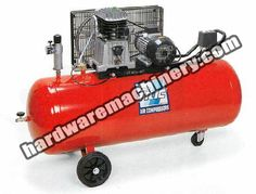 Fiac Air Compressor AB 150-850. Belt-driven, 7.5HP / 150litre tank / 3Ph – 400V