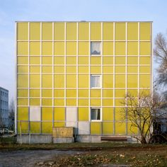 Modern Forms photography series by Nicolas Grospierre Concrete Architecture, Architecture Design, Modernisme, Photography Series, Wallpaper Magazine, Mellow Yellow, Color Yellow, Colour, Modern Buildings