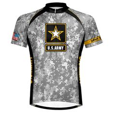 974e9ccf1 Primal Wear - US Army Camo Men s Cycling Jersey Us Army Camo