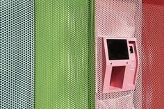 Colorful ATM Dispenses Cupcakes