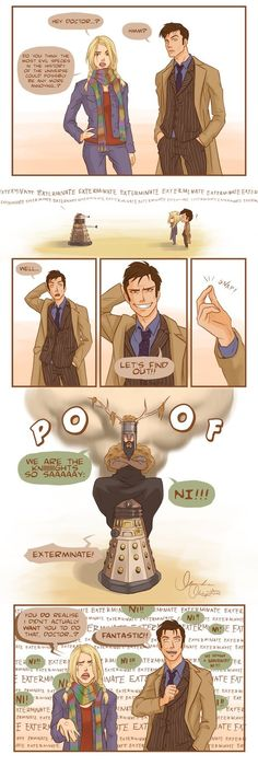Doctor Who with a touch of Monty Python!