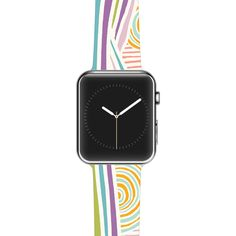 "Emine Ortega """"Graphique White"""" Apple Watch Strap"