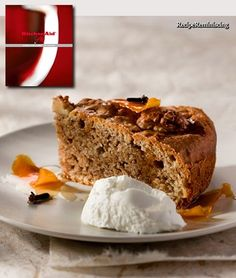 Greek Walnut and Brandy Cake / Gresk Valnøtt- og Brandykake