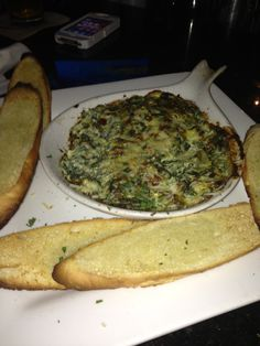 Old Venice Pizza Co. spinach artichoke dip - Oxford, MS (photo by Brandi Anderson)