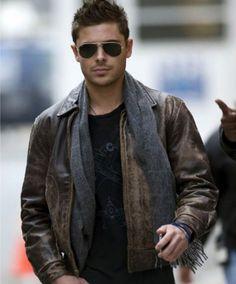 Celebrity Zac Efron New Years Eve Fan Friendly Jacket in such vintage design.