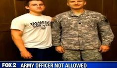 US Army Officer Denied Entry Into Daughter's Michigan High School Because Uniform Might 'Offend' Muslim Students. Who Gives A S--t..This Is the USA not a Muslim Country! if it offends them then they should LEAVE.
