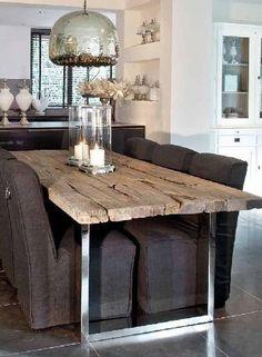 tavolo in ferro legno - Cerca con Google