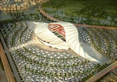 The 2022 FIFA World Cup which is scheduled to hold in Qatar is the edition of the FIFA World Cup. It is tagged Qatar The event will be the Organic Architecture, Futuristic Architecture, Amazing Architecture, Conceptual Architecture, Amazing Buildings, Temporary Architecture, Green Architecture, Soccer Stadium, Football Stadiums