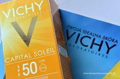 Kosmetyki z Mojej Półki: Najlpeszy krem z wysoką ochroną przeciwsłoneczną / VICHY Capital Soleil SPF50 UVB + UVA