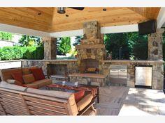 Fire Place Patio - Home and Garden Design Idea's