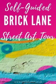 This self-guided Brick Lane street art walking tour explores the hotspots along Brick Lane and its surrounding side streets. A perfect first-timer's guide to the East London street art scene Amazing Street Art, Brick Lane, Art Walk, London Street, East London, Walking Tour, Graffiti, Around The Worlds, Scene