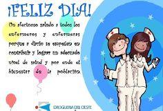 12 de Mayo Día de la Enfermera Ecards, Family Guy, Memes, Mayo, Fictional Characters, Kind Words, Pretty Quotes, Being A Nurse, Happy Labor Day