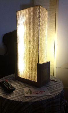 Lampada 50.000 - lampada d'ambiente a led, completamente sigillata vista la durata dichiarata dai produttori di led, da cui il nome. 80 euro