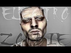 Electro Zombie | Halloween Makeup Tutorial | Alex Faction - YouTube