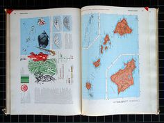 World Geographic Atlas A Composite of Mans Environment  Designed and edited by Herbert Bayer Container Corporation of America, Chicago, 1953