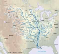 The Mississippi River and its Tributaries